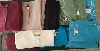 LOT of 14 Snap Front Sweatshirts / Jackets - New wo Tags - Sz XL to 4X