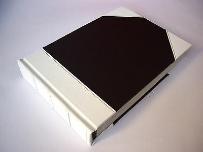 Leather Bound Photo Album Wedding & Special Occasions - White