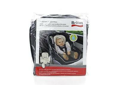 Britax Child Safety Head and Body Support Pillow, Iron Gray