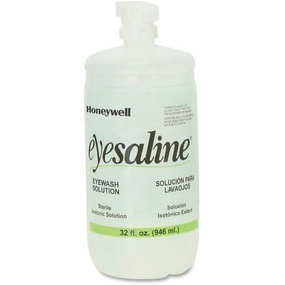 Honeywell Fendall Eyesaline Eyewash Saline Solution Bottle Refill 32 oz (Expired