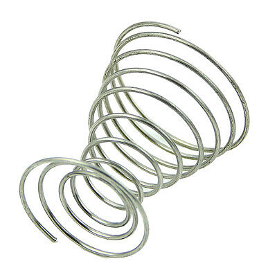 1Pc Stainless Steel Spring Wire Tray Egg Cup Boiled Eggs Holder V7D9