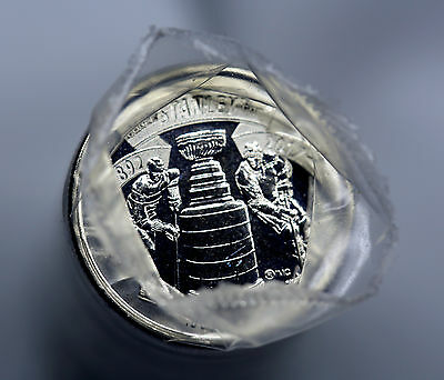 1892 - 2017 CANADA 25 Cents 125th Anniversary STANLEY CUP ROLL