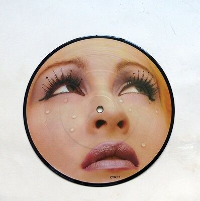"""Cyndi Lauper 7"""" Picture Disc in PVC sleeve"""