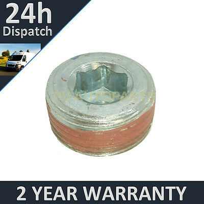 Engine Oil Sump Plug And Washer For Fiat Panda 1.2 2003-2011