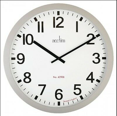 90 Cm Huge  Acctim 21947 Liberator Large Station Style Wall Clock Factory Office