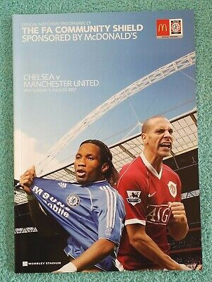 2007 - COMMUNITY SHIELD PROGRAMME - CHELSEA v MANCHESTER UTD - V.G CONDITION