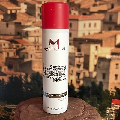 Mystic Tan Sunless Mocha Kyssed Bronzer Self Tanning Spray.
