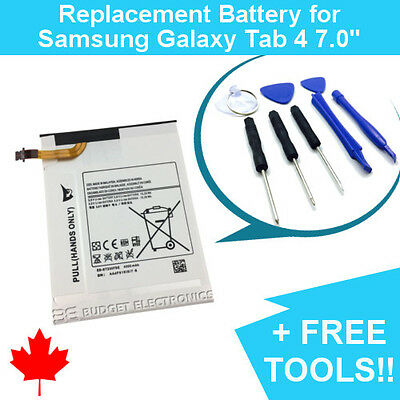Samsung Galaxy Tab 4 7.0 Replacement Battery T230 EB-BT230FBE 4000mAh FREE TOOLS