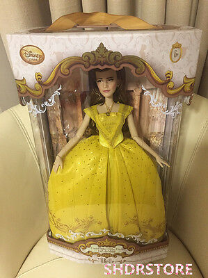 LE 5500 DOLL LIMITED EDITION BEAUTY AND THE BEAST Emma Watson DISNEY STORE BELLE