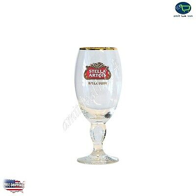 Stella Artois Chalice Beer Glass Barwear Heavy Duty Glasses Lady Collection Gift