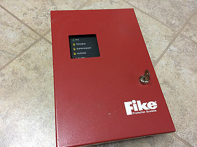 Fike C10-003 Single Zone Controller Releasing Panel (Tested & Working)