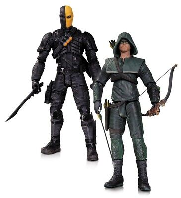 DC Direct ARROW - Oliver Queen vs. Deathstroke 2-Pack Figuren