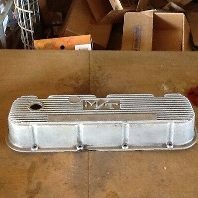 Vintage MICKEY THOMPSON M/T Big Block Chevrolet Valve Cover Man Cave 454 Rat Rod