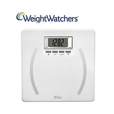 WW Precision Body Analysis Scl, by Conair, (Weight Watchers WW28 White Scale ad)
