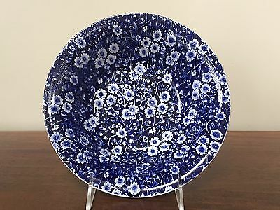 "Royal Crownford Staffordshire BLUE CALICO 8"" Vegetable Bowl"