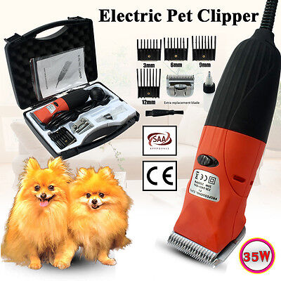 Electric Pet Clipper Blade Set Dog Cat Animal Horse Hair Trimmer Comb Grooming