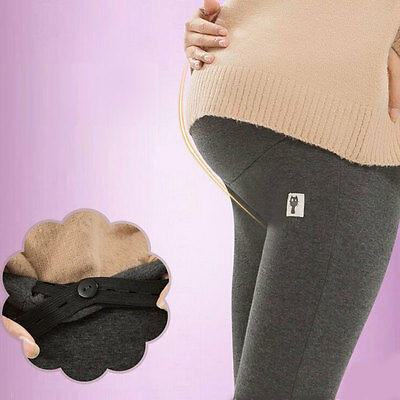 Maternity Clothes Pants Care Belly Leggings For Pregnant Plus Size Thin Trousers