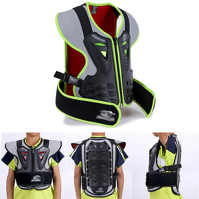 Buy Outdoor Children Body Armour Motorcycle Riding Guard Sleeveless Jacket SP92