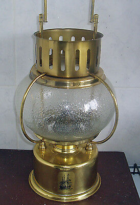 Maritime Brass Ships Kerosene Large Lantern Lamp Height 43 Cm Or 17 Inch