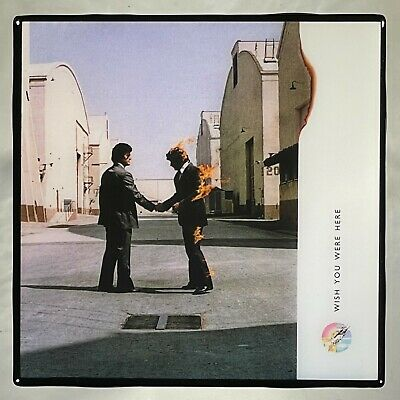 PINK FLOYD Wish You Were Here Coaster Ceramic Tile Record Cover