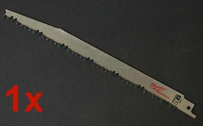 """1 X Milwaukee 1301 9"""" 5Tpi Reciprocating Saw Blade Specialist Pruning Blades"""