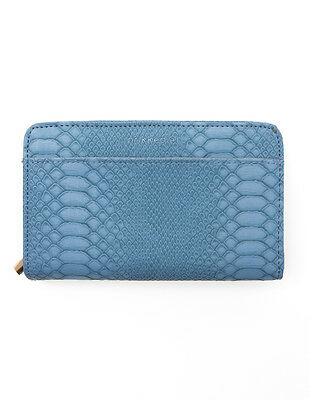 Ladies Diabetic Clutch Purse Light Blue-carry your meter & peripherals in style
