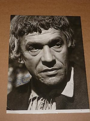 Paul Scofield 10 x 7 early 1980s Photograph (Hand Signed)