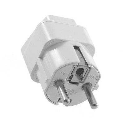 Universal AU US UK to EU AC Power Plug Travel Home Converter Adapter XP