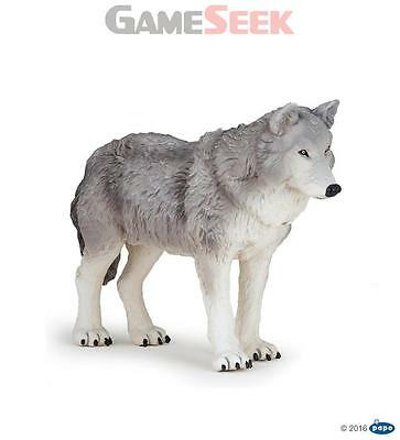 Papo Large Wolf Animal Figure - Toys Brand New Free Delivery