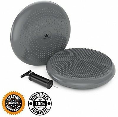 Stability Balance Disk Best Chair Cushion Seating Disc Wobble Wiggle Air Seat