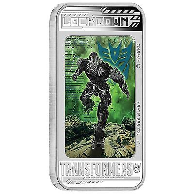 Transformers Age of Extinction – Lockdown 2014 1oz Silver Proof Lenticular Coin