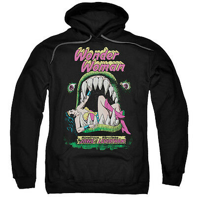 Wonder Woman Comic Cover JAWS OF THE LEVIATHAN Licensed Sweatshirt Hoodie