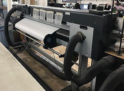 "HP designjet 8000s, 64"" Wide Format Solvent Printer."