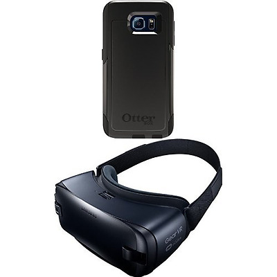 Otterbox 7751202 Commuter GS6 Case with Samsung Gear VR Virtual Reality Headset