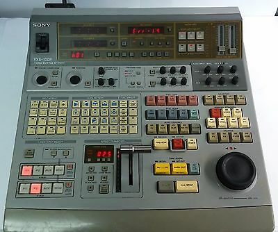 Vintage Sony FXE-100P Professional Video Editing System Control Panel Console