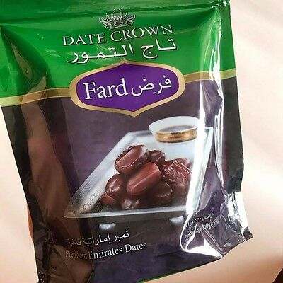 Premium Emirates Dates Fard resh Healthy Fasting for Ramadan Date Crown