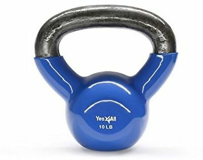 Yes4All KICY Training MMA Home Exercise Fitness Gym Yoga Workout Kettbell 10LB