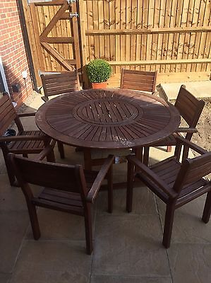 Garden Patio Table And 6 Chairs
