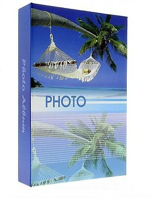"Slip In Photo Album Holds 200 6"" x 4"" Photos Memo Area Holiday Memories Gift"
