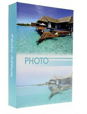 "Slip In Photo Album Holds 200 6"" x 4"" Photos Memo Holiday Memories Gift Maldives"