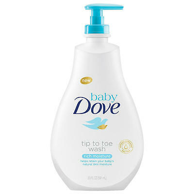 Baby Dove Tip to Toe Wash Rich Moisture - 20 Ounce