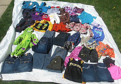Wholesale Mixed Clothing LOT 40 pc Girls Boys Childrens Toddlers Baby Clothes