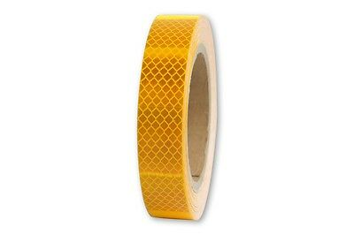 rm. x 25mm 3M™ Reflex Ribbon Diamond Grade™ RA3/C 4090 Reflex Foil Yellow