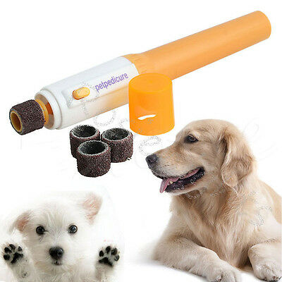 Automatic Nail Grooming Care Grinder dog nail electric Trimmer Clipper