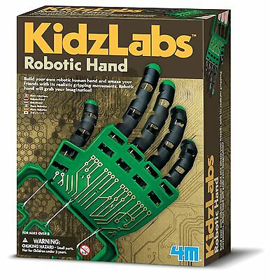 Robotic Hand Kit Science Boys and Girls Ages 8-15 Years Educational