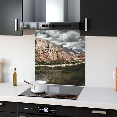 High Quality Glass Kitchen Splashback Landscape Canyon p52640 60x65cm