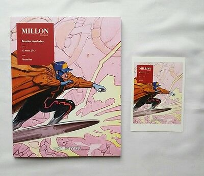 BD - Catalogue enchère MILLON / 12 mars 2017 / MOEBIUS