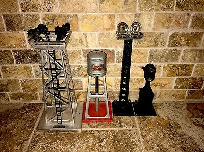 Lionel Light Lot Water Tower Flood Signal 395