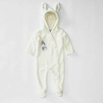 NEW Disney Baby Thumper Unisex Coverall With Ears