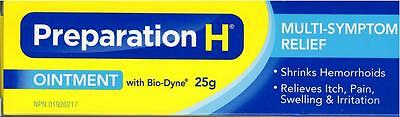 Preparation H Ointment With Bio-Dyne Multi-Symptom 25g Made in Canada Exp01/21